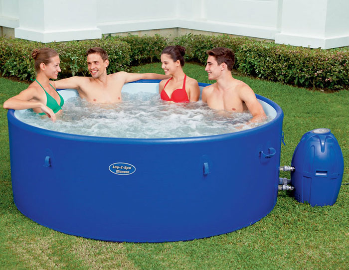 how to pick a great spa tub for your garden