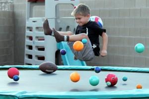 Bouncing Poison Balls