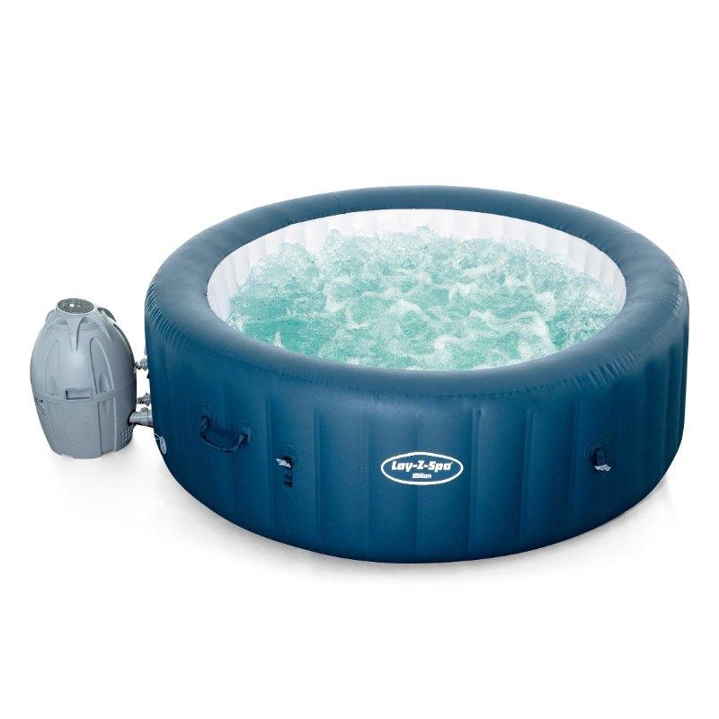 Lay-Z Spa Milan Airjet Plus hot tub.