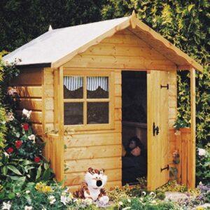 One storey playhouse