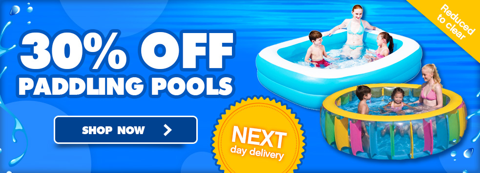 30% Off Paddling Pools