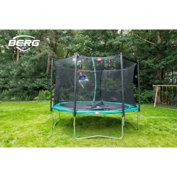 BERG Favorit 11ft Trampoline and Safety Net