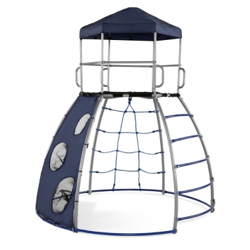 Plum Climbing Dome with Cover and Slide