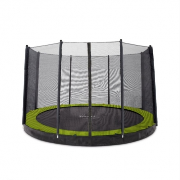Plum 12ft Circular In-Ground Trampoline and Enclosure