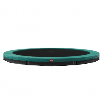 BERG Favorit 12.5ft Green In-Ground Trampoline