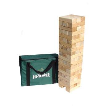 Garden Games Mega Hi Tower Block Game (inc bag)