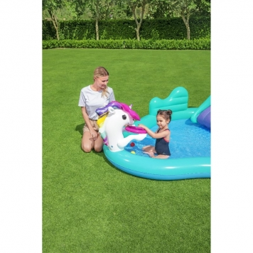 Bestway Magical Unicorn Carriage Play Centre