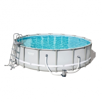 Bestway 16ft x 48in Power Steel Frame Pool Set