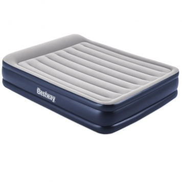 Bestway 2m x 1.5m x 46cm Tritech Queen Blue/White Airbed