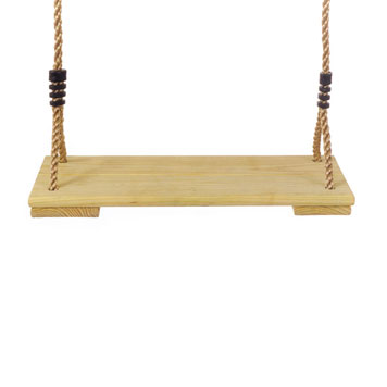 Action Pine Wooden Swing Seat