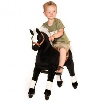 Animal Riding Horse Black  Small
