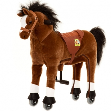Animal Riding Horse Brown  Small