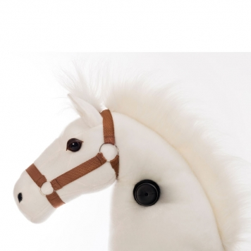 Animal Riding Horse White  Small