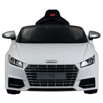 Audi TT Licensed 12v Ride on Car  White
