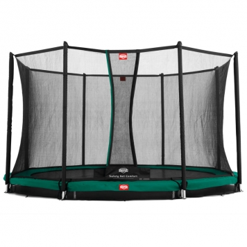 BERG In-Ground Favorit 12.5ft Trampoline + Safety Net