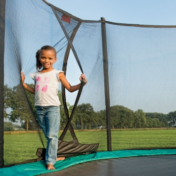 BERG Talent 6ft Trampoline and Safety Net Comfort