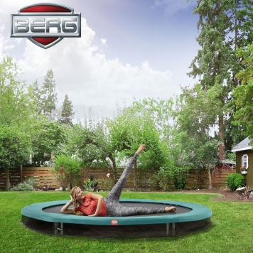 BERG Talent Sport 10ft In-Ground Trampoline