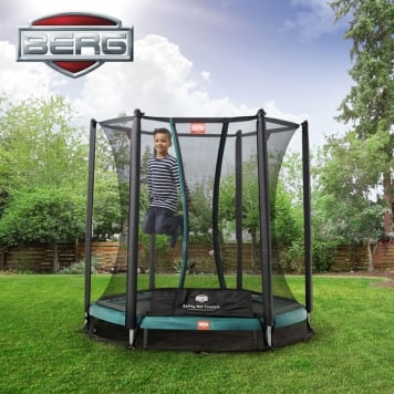 BERG Talent 6ft In-Ground Trampoline and Safety Net Comfort