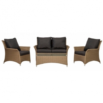 Bali 4 Seater Deluxe Lounge Set