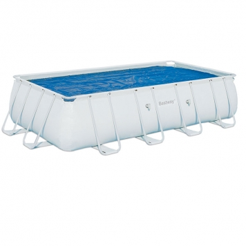 Bestway 18ft Rectangular Frame Solar Pool Cover