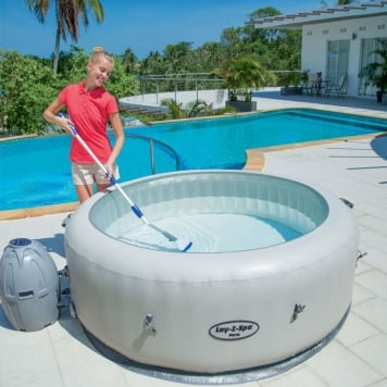 Lay-Z-Spa Aqua Scan Electric Pool Vacuum