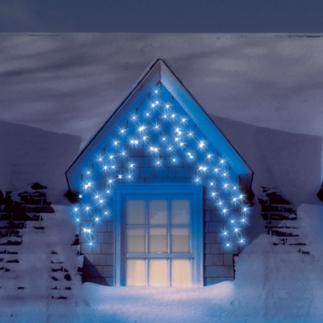 Snowtime 300 Icicle Electric Blue Connectable LEDs