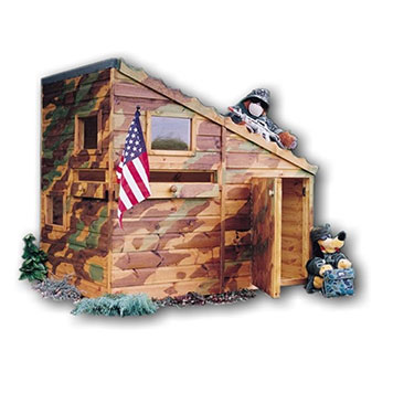 Shire Command Post Wooden Playhouse