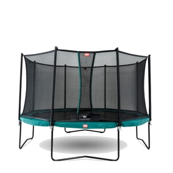 BERG Champion 11ft Trampoline and Safety Net