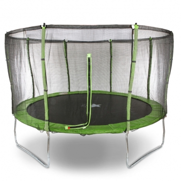 Evostar II 12ft Trampoline and Enclosure (Green)