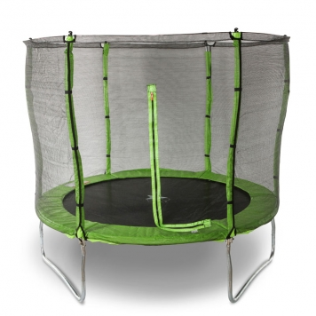 Evostar II 8ft Trampoline and Enclosure (Green)