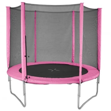 Evostar II 5ft Trampoline and Enclosure (Pink)