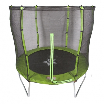 Evostar II 7ft Trampoline and Enclosure (Green)