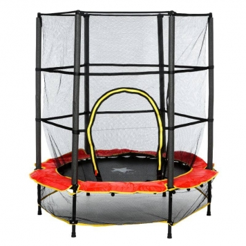 Evostar 4.5ft Junior Trampoline Red