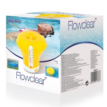 Bestway Flowclear Chemical Floater  Yellow