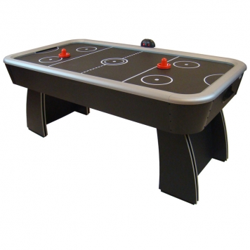 Gamesson 6ft Spectrum Air Hockey Table (Black)