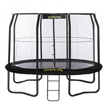 Jumpking 8ft x 11.5ft Oval JumpPod Trampoline  2016 Model