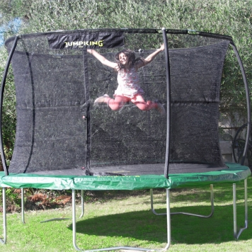 Jumpking JumpPOD Classic 12ft Trampoline Package  2016 Model