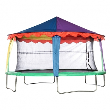 Bazoongi 10ft x 15ft Oval Circus Tent Canopy