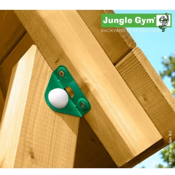 Jungle Gym Jungle Cabin inc Timber and Slide