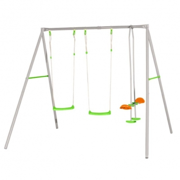 Trigano Jardin Axion Louise Metal Swing Set