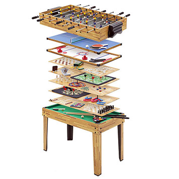 Mightymast 4ft 34-in-1 Multi Play Games Table
