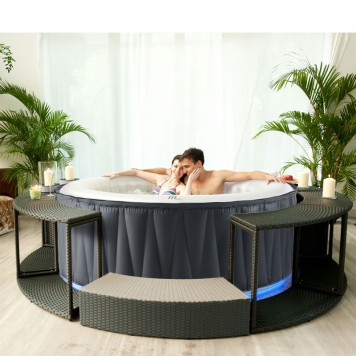 MSpa Aurora Delight Bubble Spa