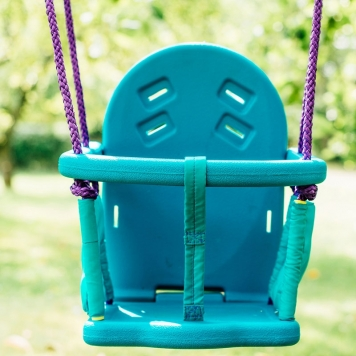 Plum 2 in 1 Swing Set