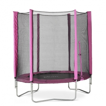 Plum 6ft Trampoline and Enclosure (Pink)