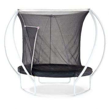 Plum 8ft Latitude Springsafe Trampoline and Enclosure