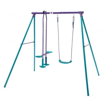Plum Helios Swing Set