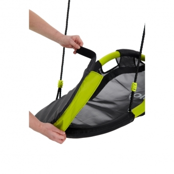 Plum Glide Nest Swing Without Hangers