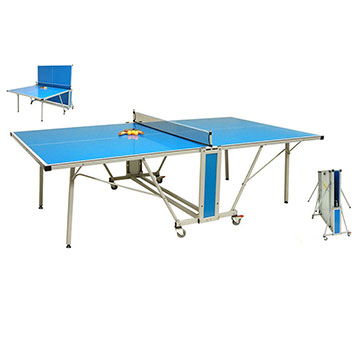 large product image - Mightymast 9ft Team Extreme Outdoor Table Tennis Table