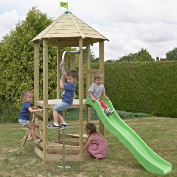 TP Toys Castlewood Tower with Wave Slide