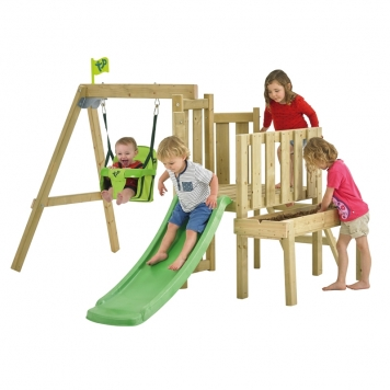 TP Toys Forest Toddler Multiplay with Slide and Baby Seat